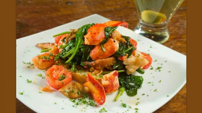 Appetizer Lobster Crustini